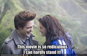 This movie is so rediculous I can hardly stand it!