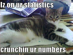 Iz on ur statistics  crunchin ur numbers
