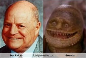 Don Rickles Totally Looks Like Goomba