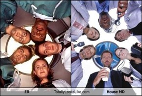 ER Totally Looks Like House MD