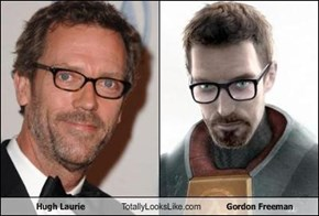 Hugh Laurie Totally Looks Like Gordon Freeman