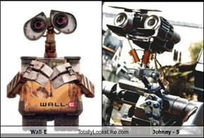 Wall-E Totally Looks Like Johnny - 5