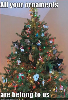 All your ornaments  are belong to us