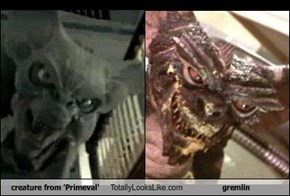 creature from 'Primeval' Totally Looks Like gremlin