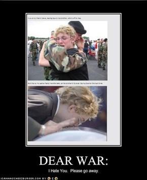 DEAR WAR: