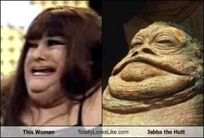 This Woman Totally Looks Like Jabba the Hutt