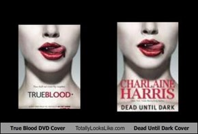 True Blood DVD Cover Totally Looks Like Dead Until Dark Cover