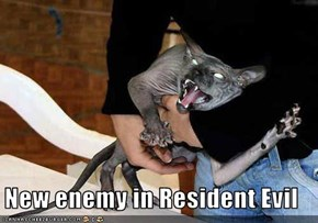 New enemy in Resident Evil