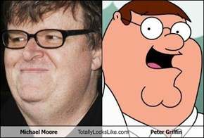 Michael Moore Totally Looks Like Peter Griffin