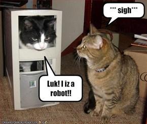 Luk! I iz a robot!!