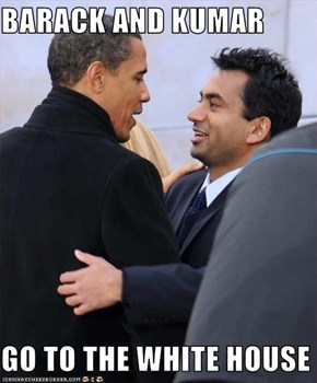 BARACK AND KUMAR  GO TO THE WHITE HOUSE