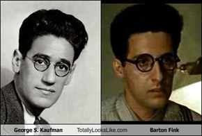 George S. Kaufman Totally Looks Like Barton Fink