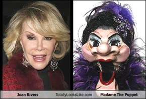 Joan Rivers Totally Looks Like Madame The Puppet