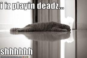 i iz playin deadz...  shhhhhh