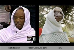 Sam Cassell Totally Looks Like E.T.
