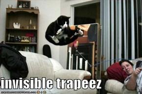invisible trapeez