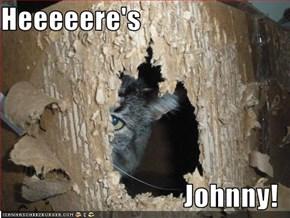 Heeeeere's  Johnny!