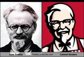 Leon Trotsky Totally Looks Like Colonel Sanders
