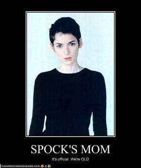 SPOCK'S MOM