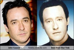 John Cusack Totally Looks Like Data from Star Trek