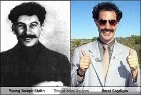 Young Joseph Stalin Totally Looks Like Borat Sagdiyev