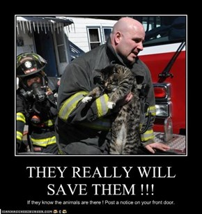 THEY REALLY WILL SAVE THEM !!!