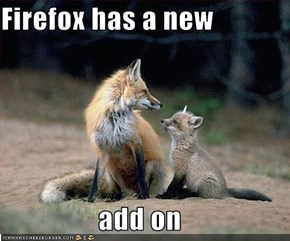 Firefox has a new  add on