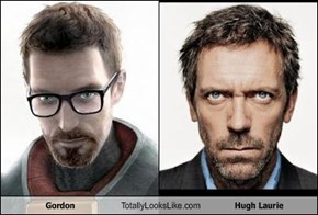 Gordon Totally Looks Like Hugh Laurie