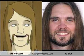 Toki Wartooth Totally Looks Like Bo Bice