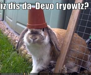 iz dis da  Devo tryowtz?