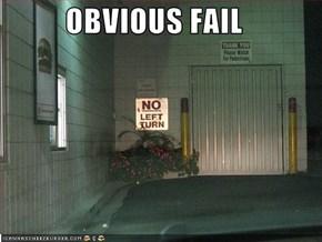 OBVIOUS FAIL
