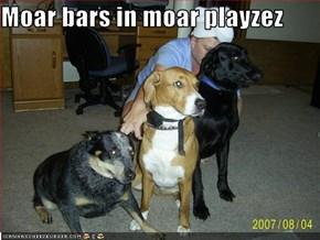 Moar bars in moar playzez