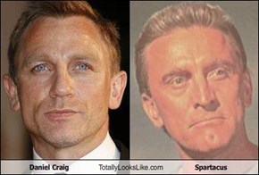 Daniel Craig Totally Looks Like Spartacus