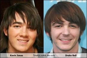 Kevin Jonas Totally Looks Like Drake Bell