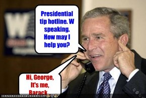 Presidential tip hotline. W speaking. How may I help you?