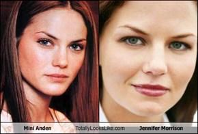 Mini Anden Totally Looks Like Jennifer Morrison
