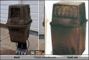Gonk Totally Looks Like trash can