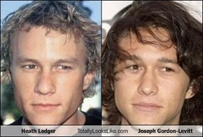 Heath Ledger Totally Looks Like Joseph Gordon-Levitt