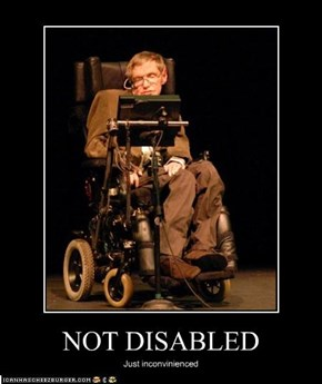 NOT DISABLED