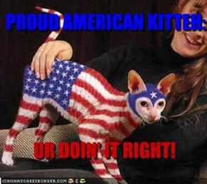PROUD AMERICAN KITTEH: