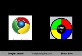 Google Chrome Totally Looks Like Simon Says