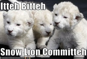 Itteh Bitteh  Snow Lion Committeh