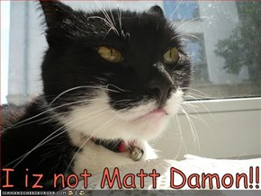 I iz not Matt Damon!!!11!1!!