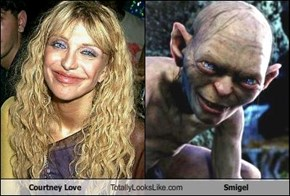 Courtney Love Totally Looks Like Smigel