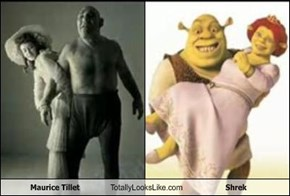 Maurice Tillet Totally Looks Like Shrek