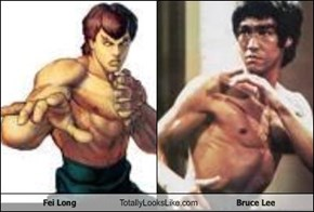 Fei Long Totally Looks Like Bruce Lee