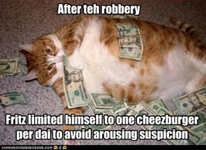 After teh robbery