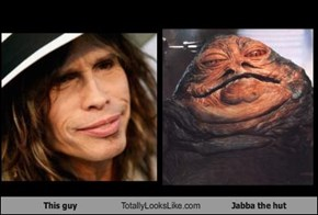 This guy Totally Looks Like Jabba the hut