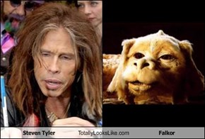Steven Tyler Totally Looks Like Falkor