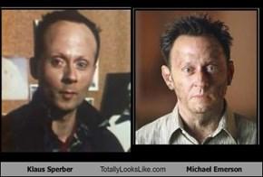 Klaus Sperber  Totally Looks Like Michael Emerson
